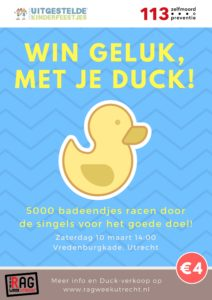 Duck Race flyer