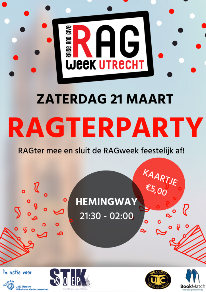 Ragterparty poster